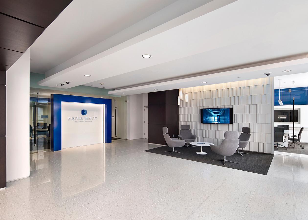 Digital realty headquarters truebeck construction - Interior design industry statistics ...